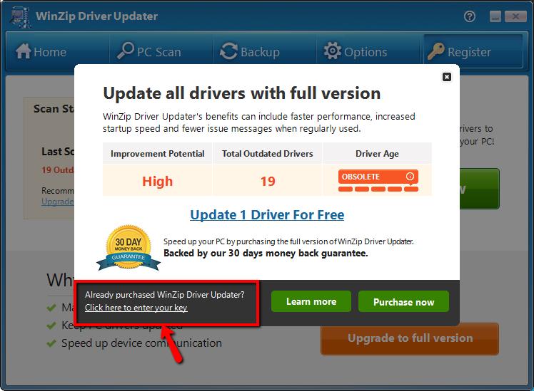 slim driver updater activation key